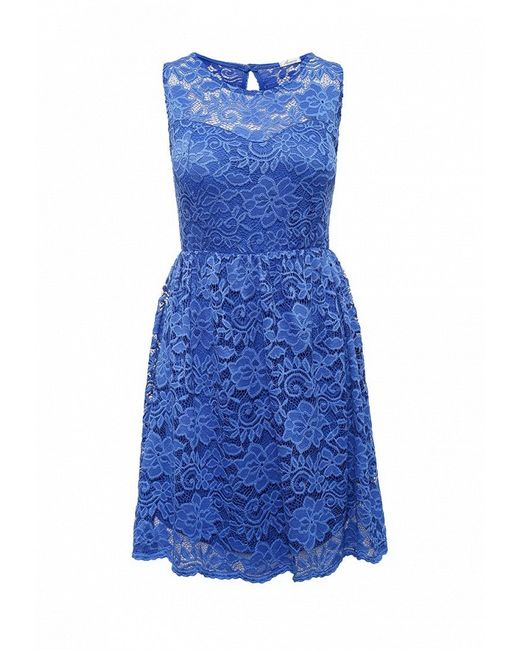 Платье Aurora Firenze                                                                                                              синий цвет