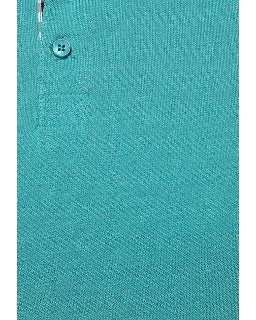 Поло Baon                                                                                                              Бирюзовый цвет