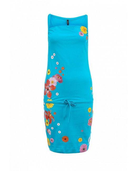 Сарафан Baon                                                                                                              голубой цвет
