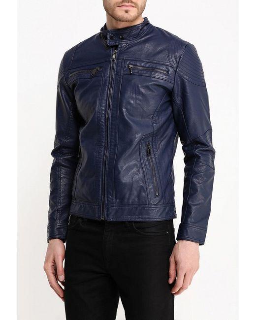 Куртка Кожаная Bata                                                                                                              синий цвет