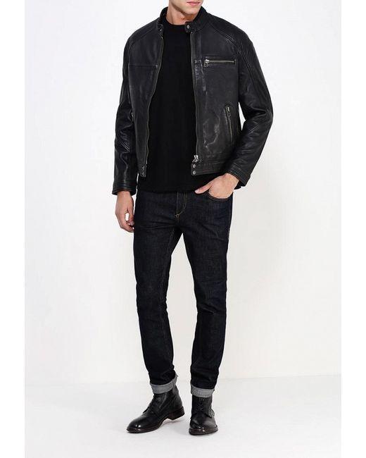 Куртка Кожаная Bata                                                                                                              чёрный цвет