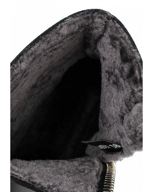 Полусапоги Baldinini                                                                                                              чёрный цвет