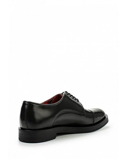 Туфли Base London                                                                                                              чёрный цвет