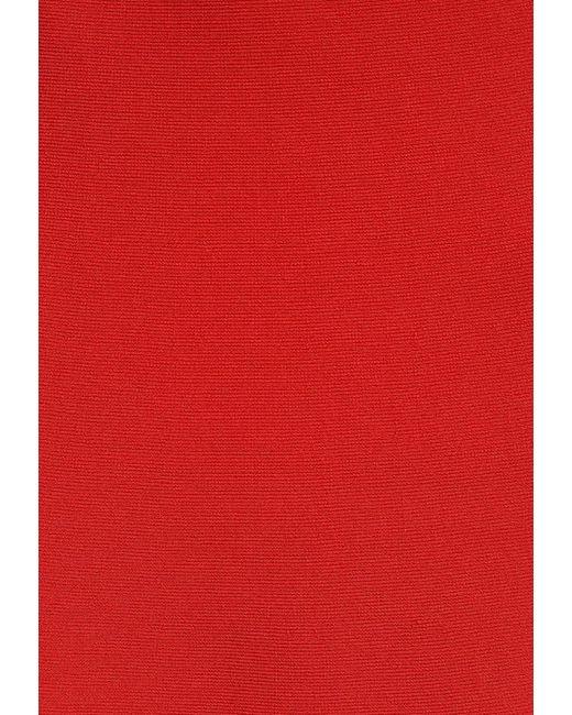 Юбка BCBGMAXAZRIA                                                                                                              красный цвет