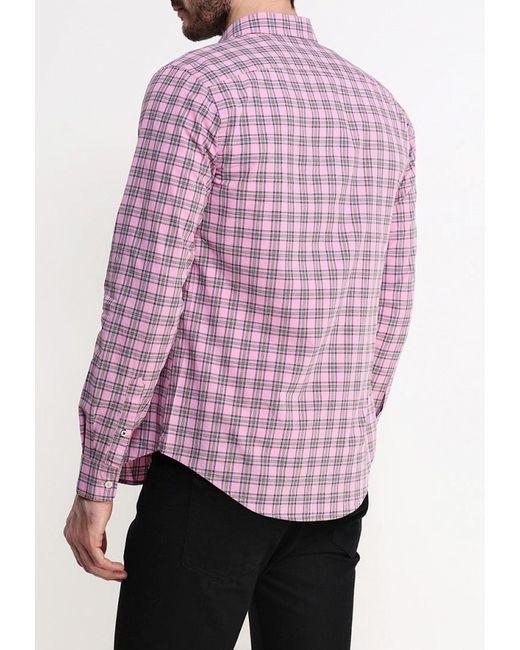 Рубашка United Colors Of Benetton                                                                                                              розовый цвет