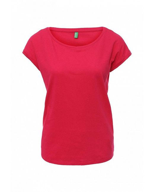 Футболка United Colors Of Benetton                                                                                                              розовый цвет