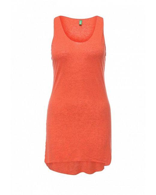 Топ Benetton                                                                                                              оранжевый цвет