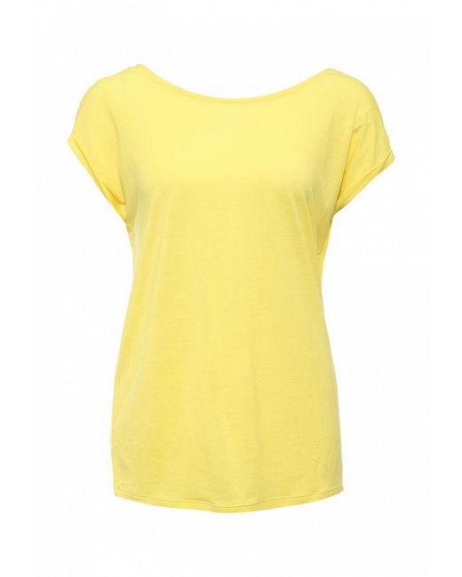 Футболка United Colors Of Benetton                                                                                                              желтый цвет