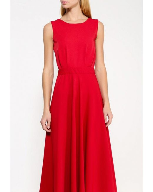 Платье Be In                                                                                                              красный цвет