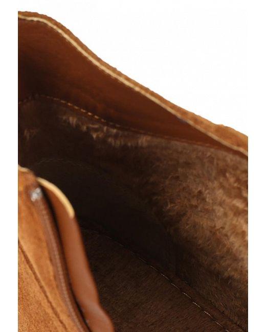 Полусапоги Betsy                                                                                                              коричневый цвет