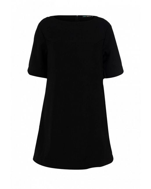 Минималистичное Платье Befree                                                                                                              чёрный цвет