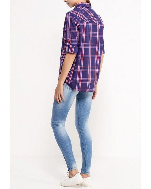 Рубашка Bestia                                                                                                              синий цвет