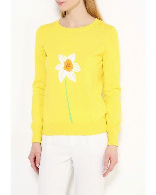 Джемпер Bestia                                                                                                              желтый цвет