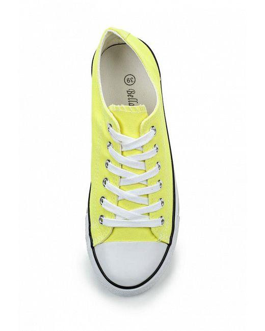 Кеды Bella Comoda                                                                                                              желтый цвет