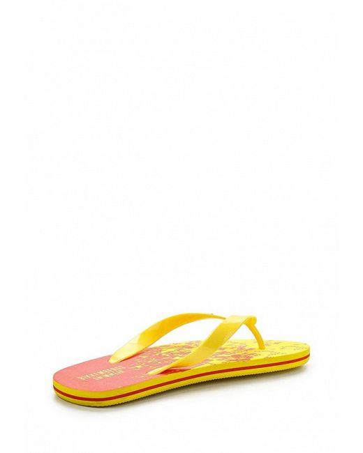 Сланцы Bikkembergs                                                                                                              желтый цвет