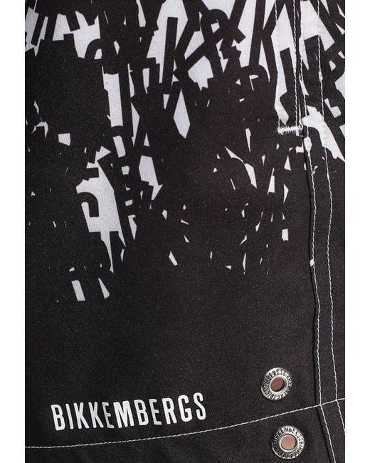 Шорты Для Плавания Bikkembergs                                                                                                              чёрный цвет