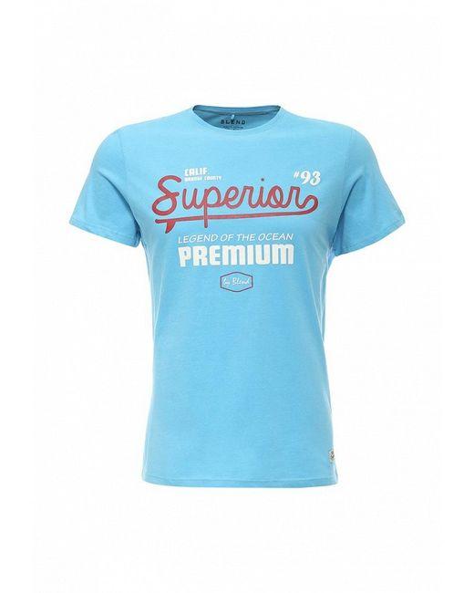 Футболка Blend                                                                                                              голубой цвет