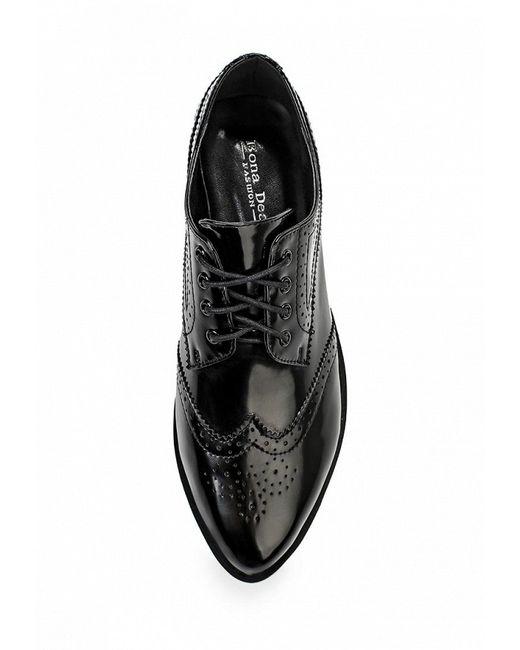 Ботинки Bona Dea                                                                                                              чёрный цвет