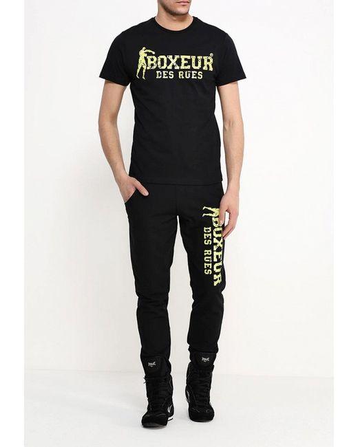 Футболка Boxeur Des Rues                                                                                                              чёрный цвет