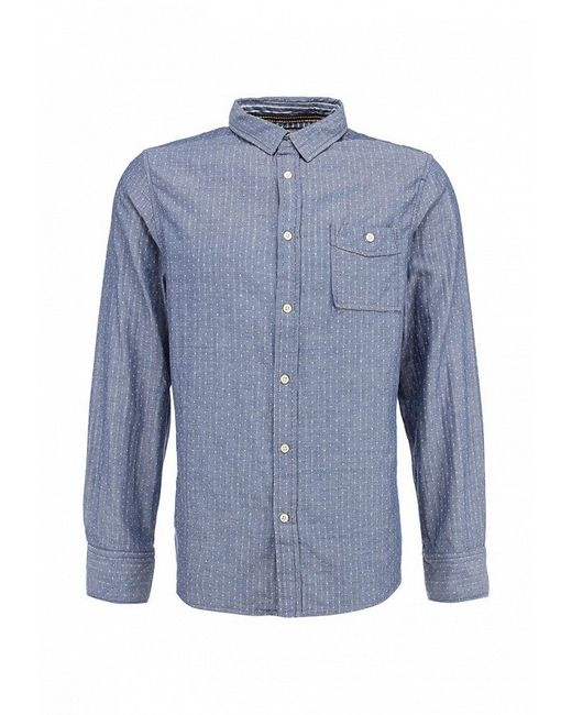 Рубашка Brave Soul                                                                                                              голубой цвет