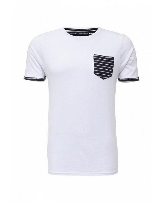 Футболка Brave Soul                                                                                                              белый цвет