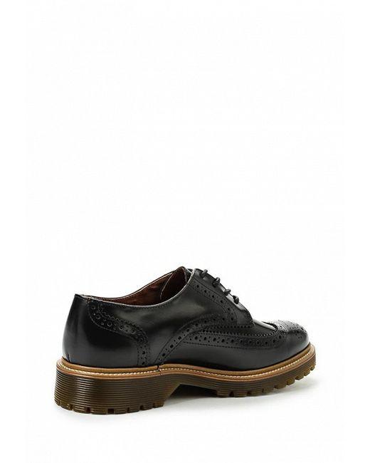 Туфли Bronx                                                                                                              чёрный цвет