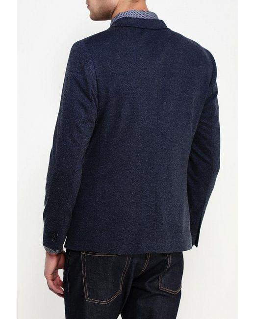 Пиджак Burton Menswear London                                                                                                              синий цвет