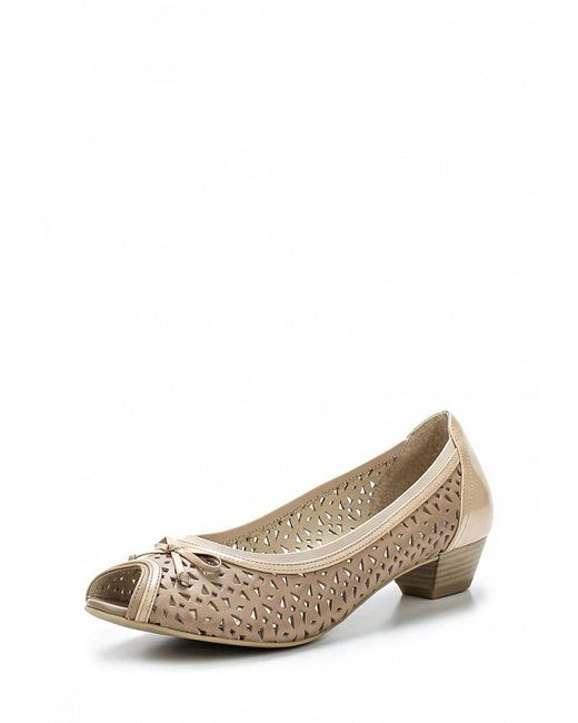 Туфли Caprice                                                                                                              бежевый цвет