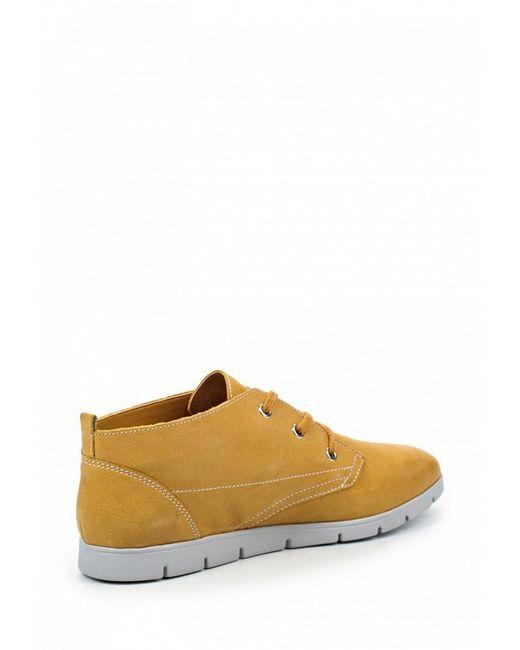 Ботинки Caprice                                                                                                              желтый цвет