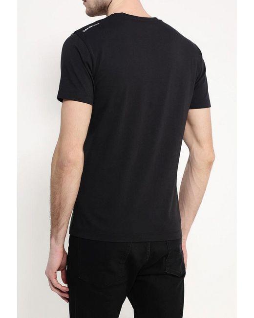 Футболка Calvin Klein Jeans                                                                                                              чёрный цвет