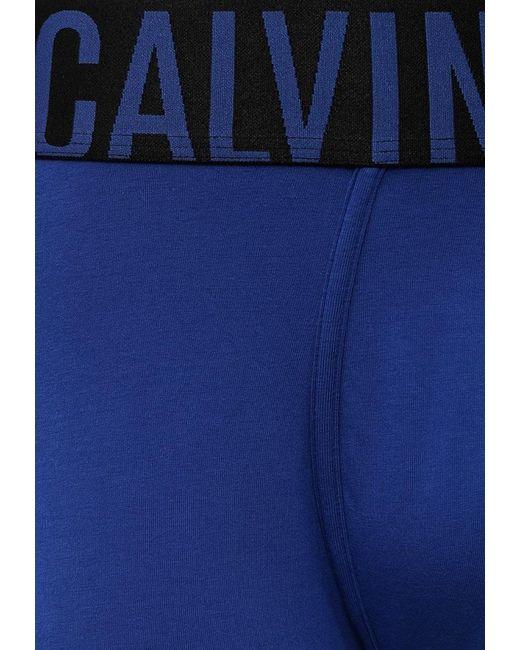 Трусы Underwear Calvin Klein                                                                                                              синий цвет