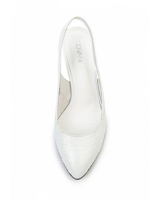 Босоножки Covani                                                                                                              белый цвет