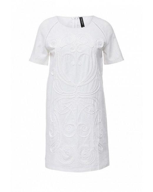 Платье Concept Club                                                                                                              белый цвет