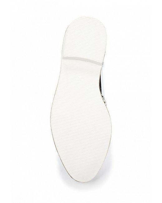 Ботинки Coco Perla                                                                                                              Серебряный цвет