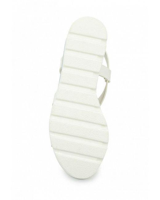Босоножки Damerose                                                                                                              белый цвет