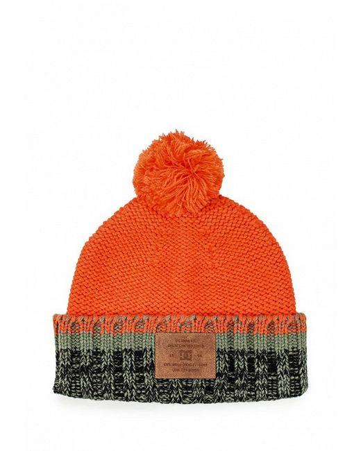 Шапка Dcshoes                                                                                                              оранжевый цвет
