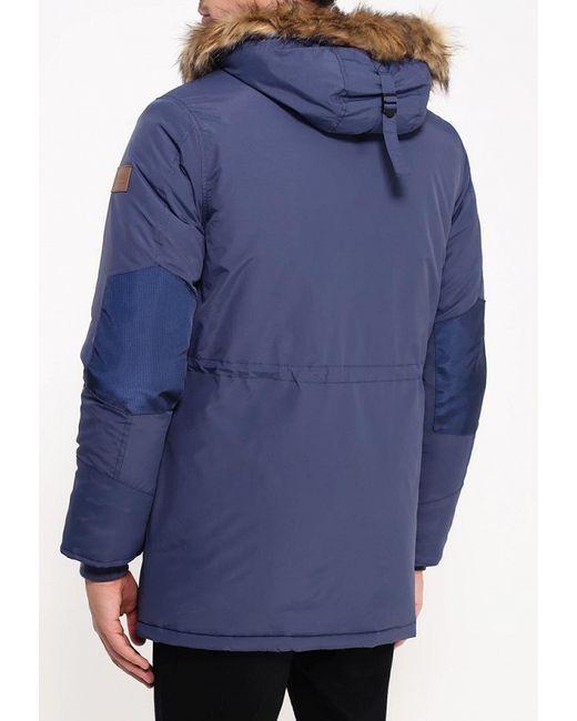 Куртка Утепленная Deblasio                                                                                                              синий цвет