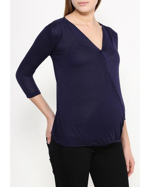 Пуловер Dorothy Perkins Maternity                                                                                                              синий цвет