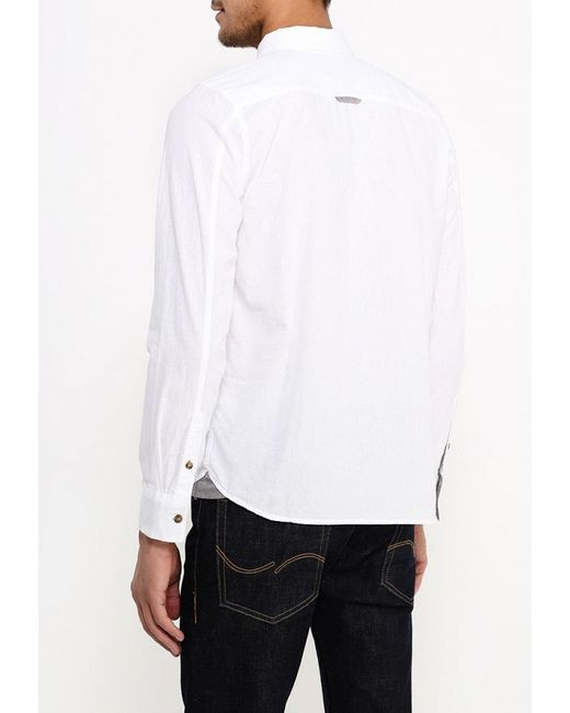 Рубашка D-Struct                                                                                                              белый цвет