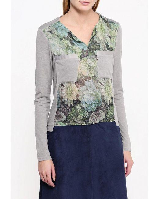 Блуза D.Va                                                                                                              серый цвет