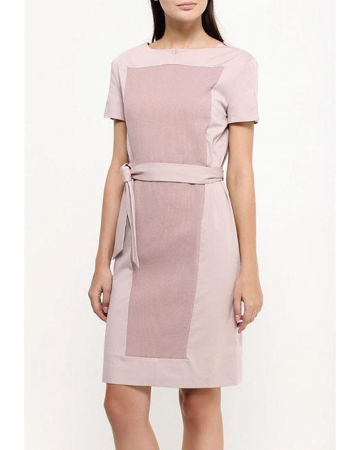 Платье D.Va                                                                                                              розовый цвет