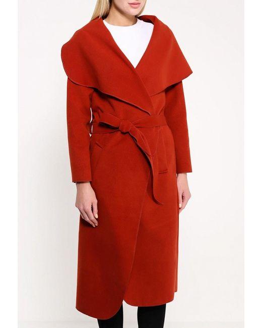 Пальто Edge Clothing                                                                                                              коричневый цвет