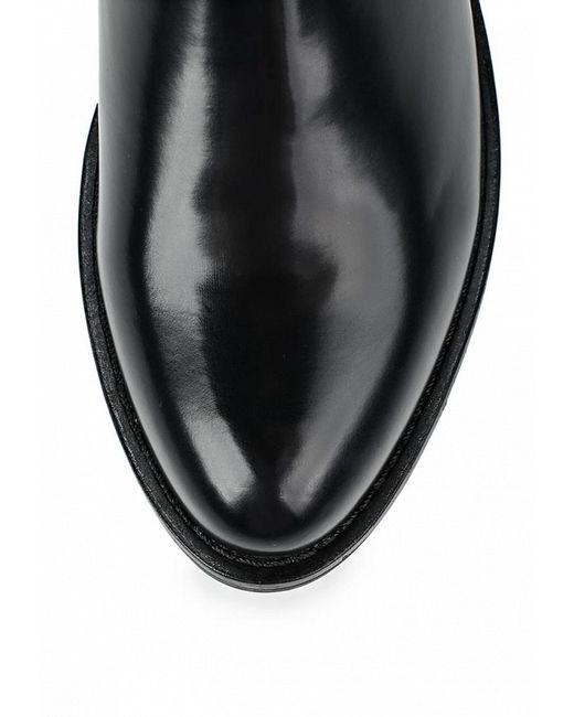 Полусапоги Elong                                                                                                              чёрный цвет