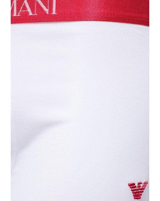 Трусы Emporio Armani                                                                                                              белый цвет