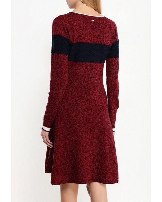 Платье Escada Sport                                                                                                              красный цвет