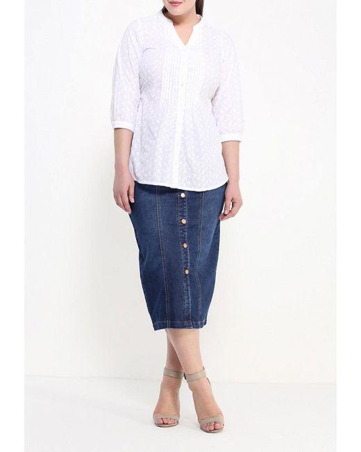 Блуза Evans                                                                                                              белый цвет