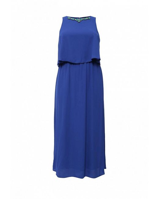 Платье Evans                                                                                                              синий цвет