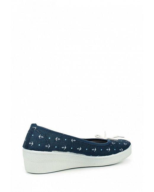 Туфли Face                                                                                                              синий цвет