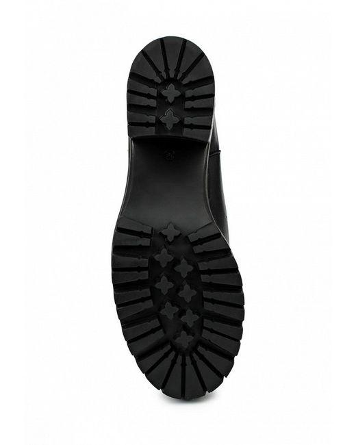 Полусапоги Felmini                                                                                                              чёрный цвет