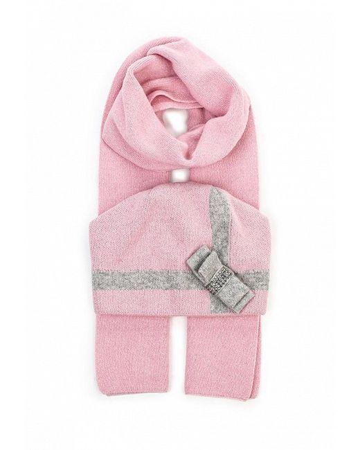 Комплект Шапка И Шарф Ferz                                                                                                              розовый цвет